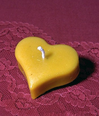 Silikon-Kerzenform Teelicht Herz