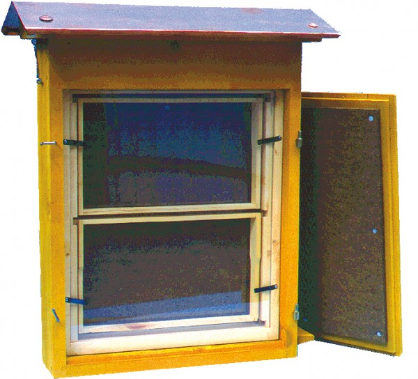 Schaukasten mit Deckel für 2 DNM-Waben