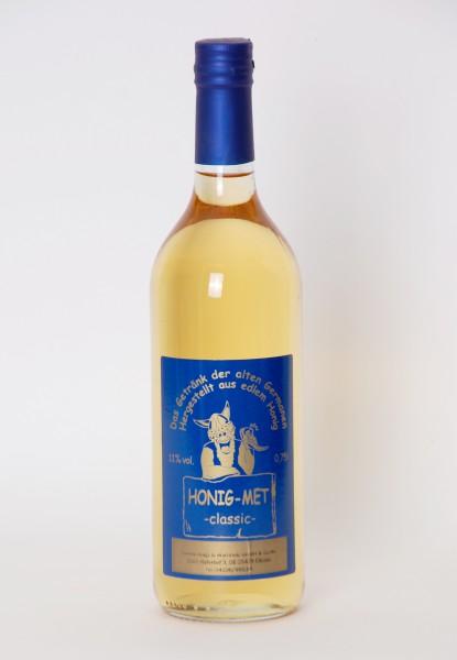 Honigmet, Alkoholgehalt 11 %, Flasche 0,75l