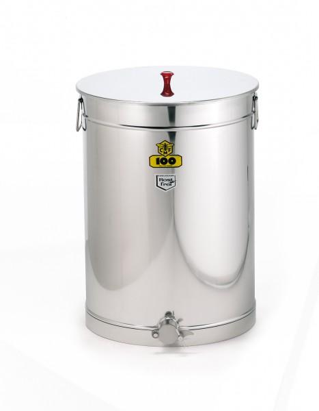 Abfüllbehälter Edelstahl 100 kg
