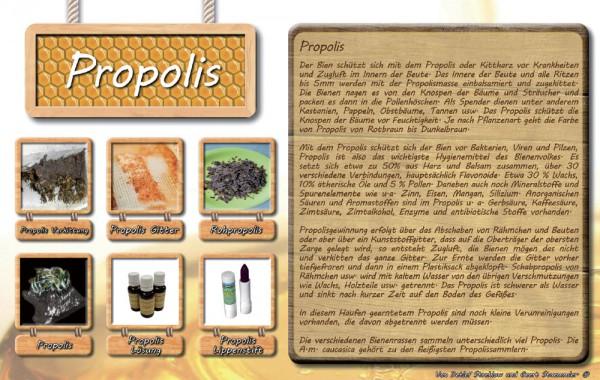 Werbetafel Propolis