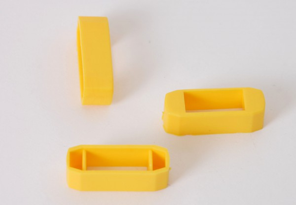 Zanderklemmen, gelb