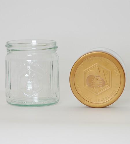 DIB-Honigglas 500g Glas komplett mit Deckel