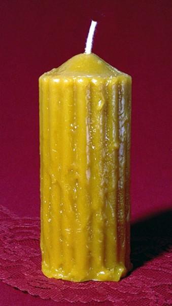 Silikon-Kerzenform Stumpenkerze rustikal