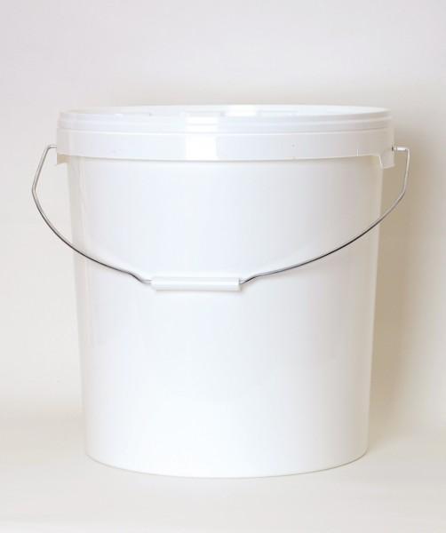 Honigeimer aus Plastik weiß 25 kg