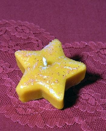 Silikon-Kerzenform Teelicht Stern