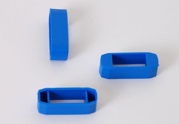 Zanderklemmen, blau