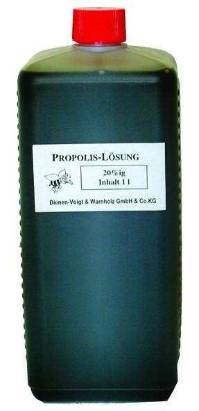 Propolislösung 40% 1 l Flasche