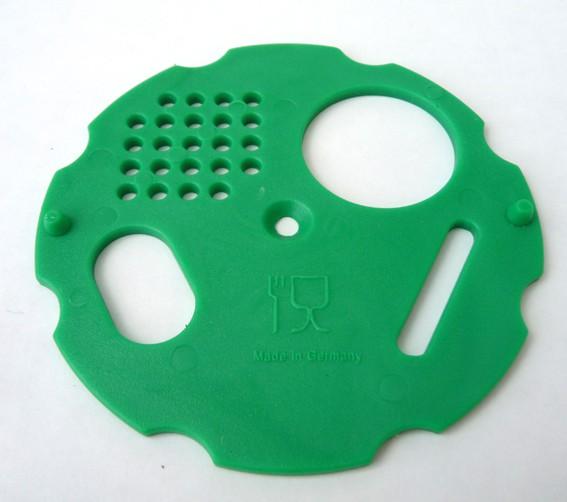 Drehscheibe für Flugloch - grün -