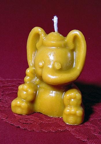 Silikon-Kerzenform / Elefant