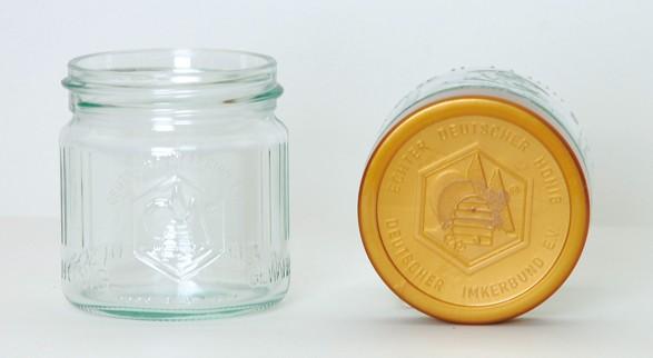 DIB-Einheitsglas 250g Glas komplett mit Deckel