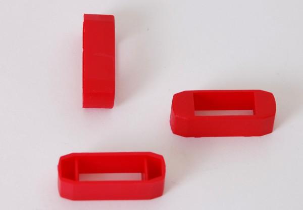 Zanderklemmen, rot