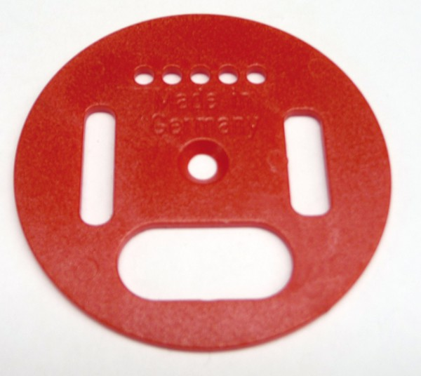 Ersatzdrehscheibe rot