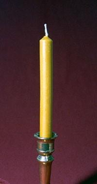 Silikon-Kerzenform Tischkerze 18,6 cm
