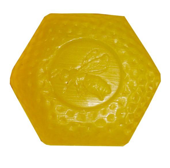 Honig-Limonen-Wabenseife