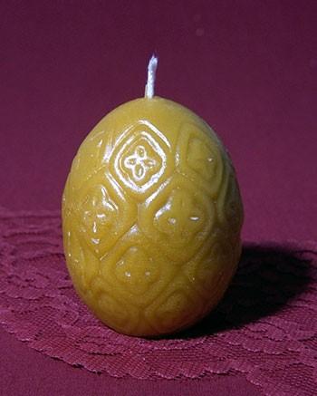 Silikon-Kerzenform Osterei groß