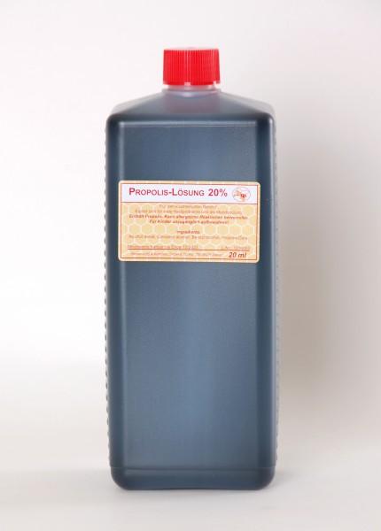 Propolislösung 20% 1 l Flasche