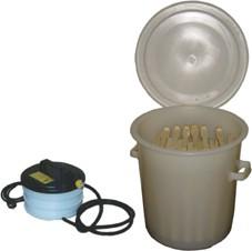 Dampfwachsschmelzer Kunststoff