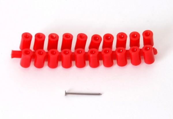 Plastikabstandsstifte, rot
