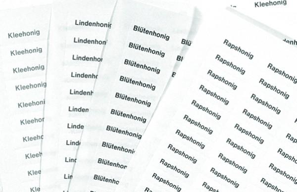 Sortenetiketten - Aufkleber Löwenzahnhonig