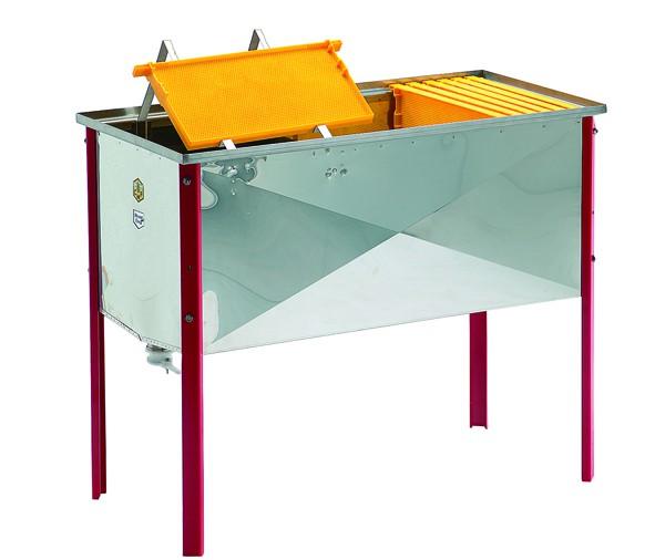Entdeckelungswanne-Tisch