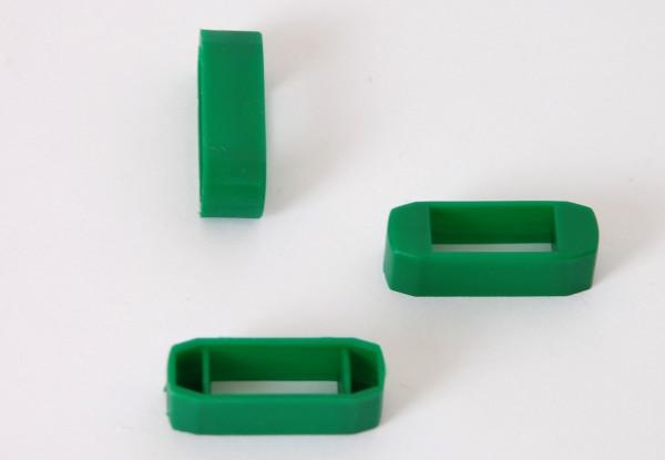 Zanderklemmen, grün